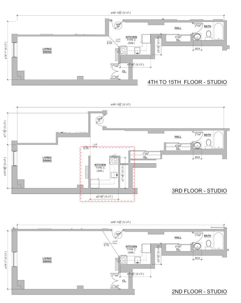 Mayflower Studio Floor Plans
